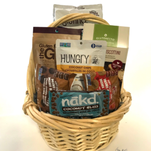 Gift baskets delivered to calgary okotoks airdrie and areas gluten free snackin negle Images