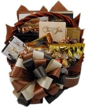 Chocolate classic bumble bee baskets chocolate classic negle Images