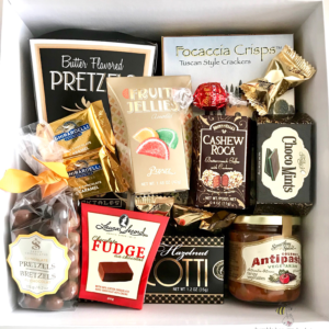 Anniversary gift baskets last minute gifts calgary airdrie box of delicious negle Images